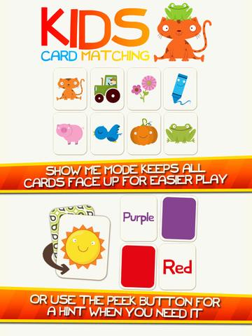 Colores Match! Color de Aprendizaje Juego para Niños