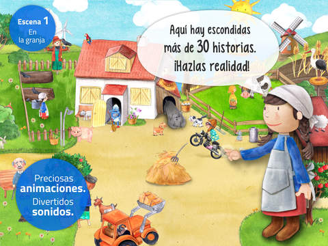 Minigranja. ¡Animales, tractores y aventura!