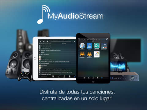 MyAudioStream HD Pro