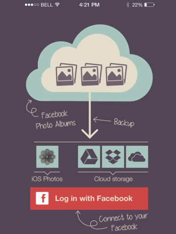 PikUp Pro - Backup Social Photo