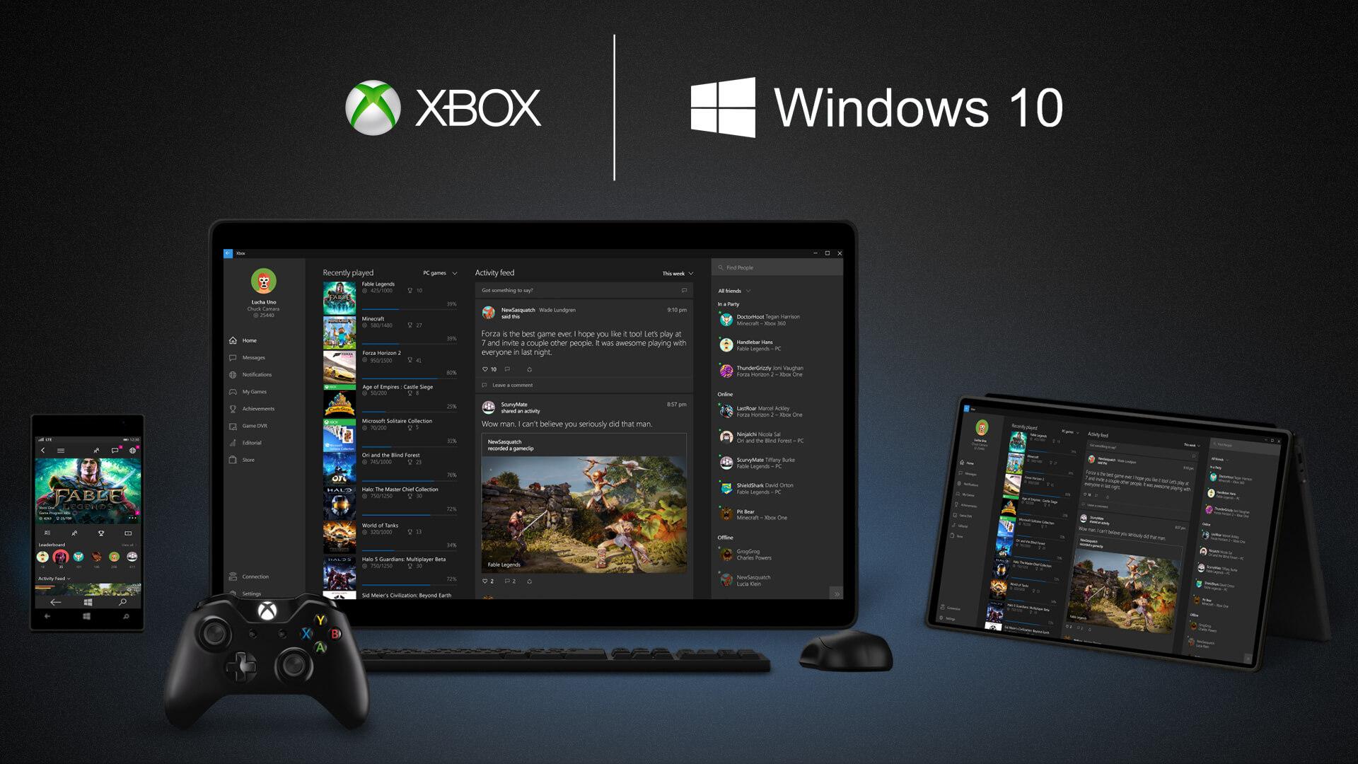 Xbox-App-On-Windows-10-Devices