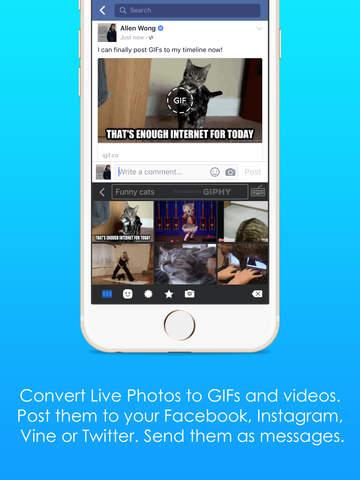 iGIF - Swipe, Live Photo & GIF Keyboard