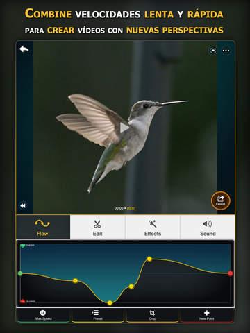 Flow Velocidad rápida y lenta para vídeos