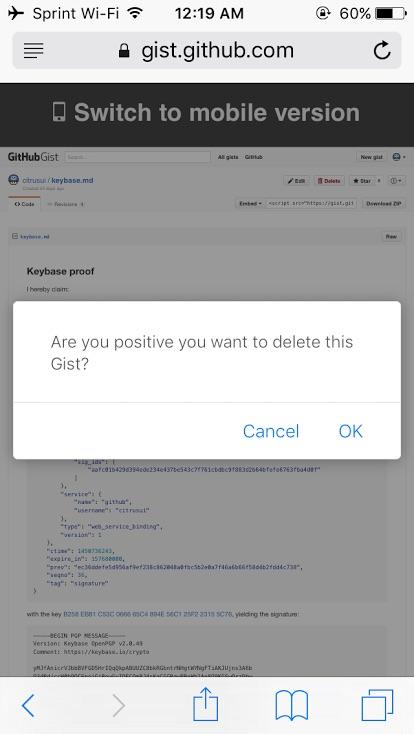 cuadro dialogo iOS 9.3 B