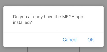 cuadro dialogo iOS 9.3