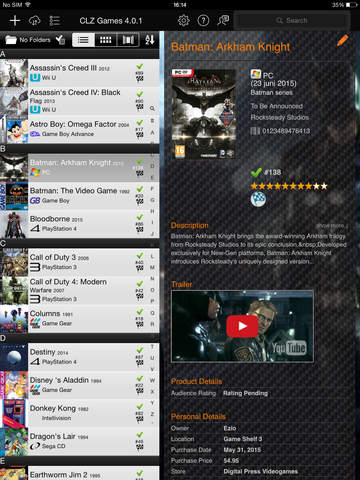 CLZ Games - Video Game Collection Database