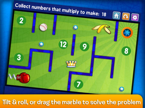 Marble Math Lite- Multiplication