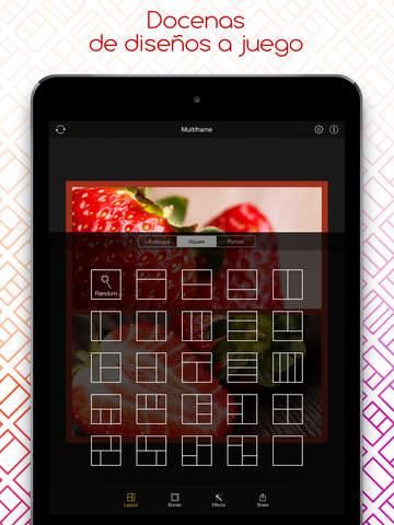 Multiframe- Creador de collages de imágenes y editor de fotos