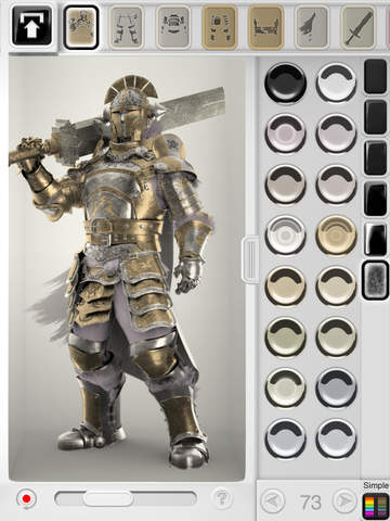Figuromo Artist - Castle Gatekeeper Knight