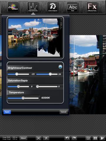 Iris Photo Suite for iPad