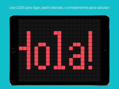 LEDit – Mensajes con LEDs