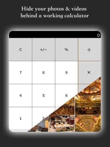 My Calculator - Hide photos and videos