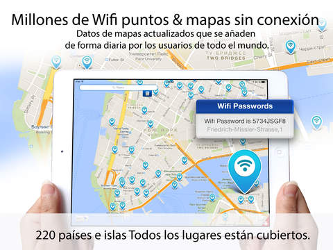 Offline wifimap- free wi-fi & passwords for wifi hotspot