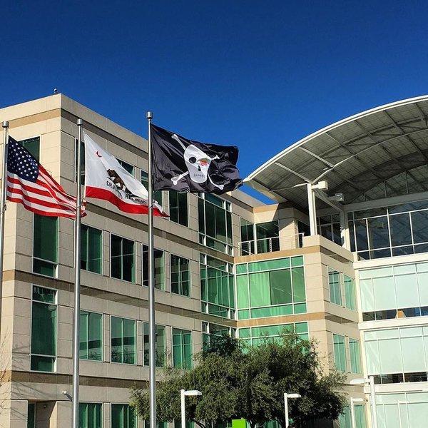 bandera pirata Apple