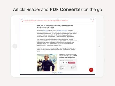 InstaWeb- Web to PDF Converter