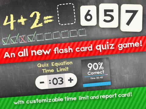 Suma Y Resta De Matemáticas Partido Flashcard Para Niños En Primero Y Segundo Grado