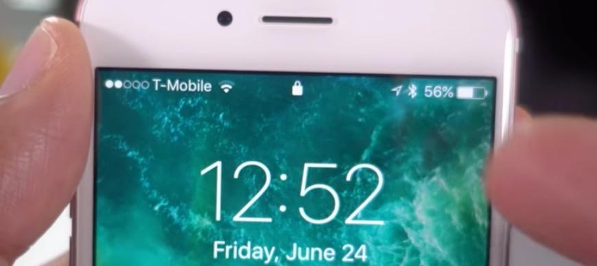 desbloquear iOS 10 icono candado