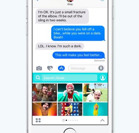 mensajes app terceros