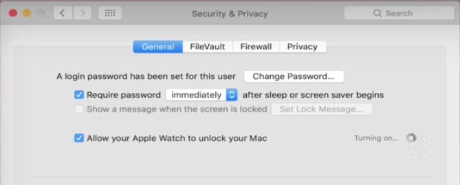 desbloquear mac con Watch 2