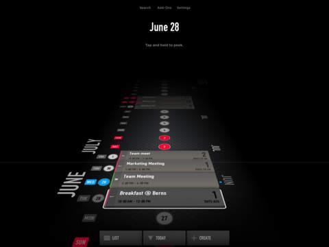 Overview Calendar