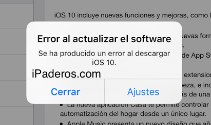 error-al-actualizar-el-software-ios-10