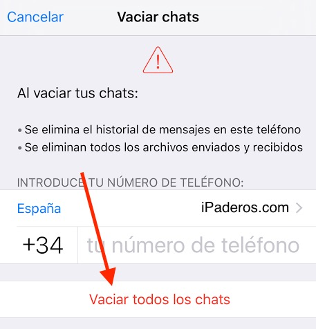 vaciar-chats-whatsapp