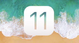 Logo de iOS 11