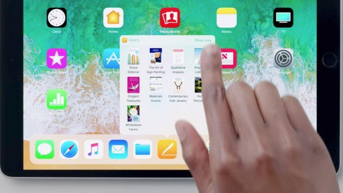 Dock de Apps en iOS 11