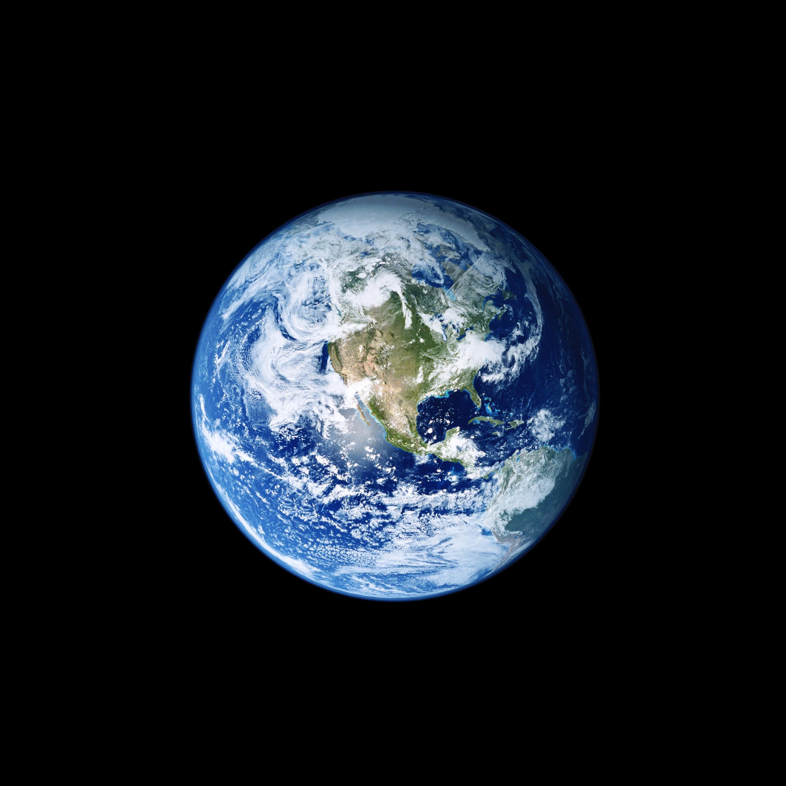 Fondo de pantalla de La Tierra en iOS 11