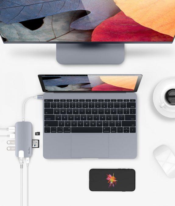 Hub USB-C para MacBook