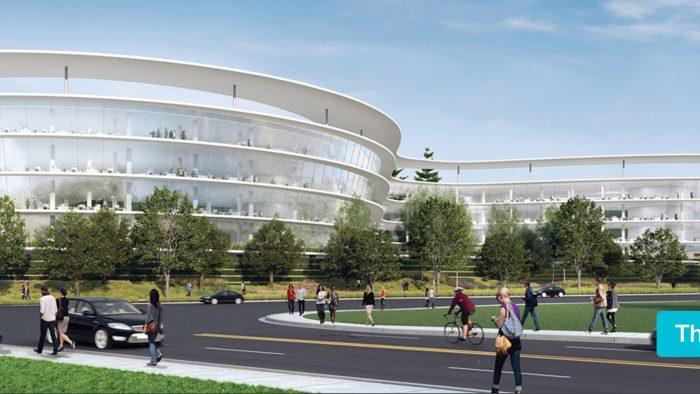 Render de las oficinas de Apple en Sunnyvale