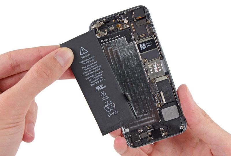Cambio de batería en el iPhone