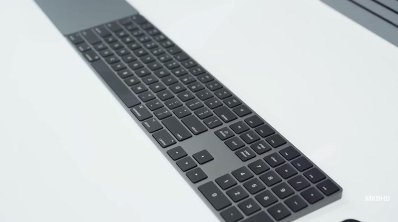 Teclado del iMac Pro