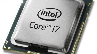 CPU Core i7 de Intel