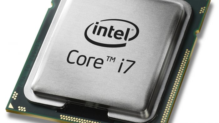 CPU Core i7 de Intel