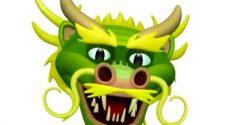 Animoji de dragón en iOS 11.3