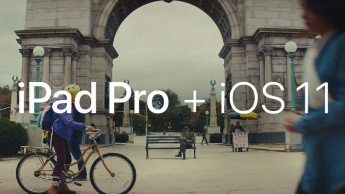 IPad Pro + iOS 11