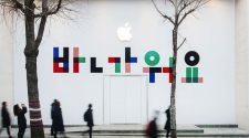 Obras de la primera Apple Store de Apple en Corea del Sur