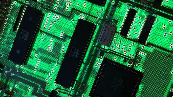 Placa base del Amiga 500