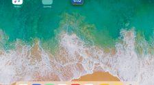 Mover varios iconos a la vez iOS11