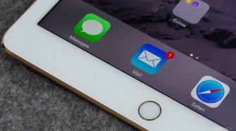 iPad Air Mail