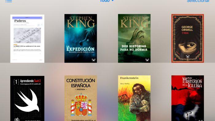 PDF en iBooks