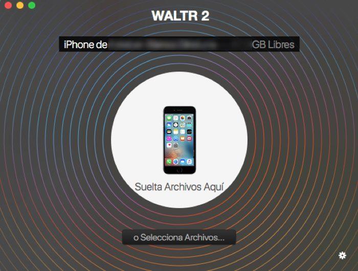 Waltr con vuestro <stro />iPhone</strong>® conectado&#8221; width=&#8221;700&#8243; height=&#8221;530&#8243; srcset=&#8221;<a target=