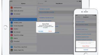 iPhone 7 iPad ios11 borrar