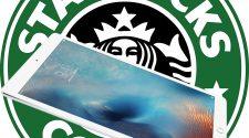 iPad y logo de Starbucks