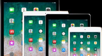 Varios modelos de iPad