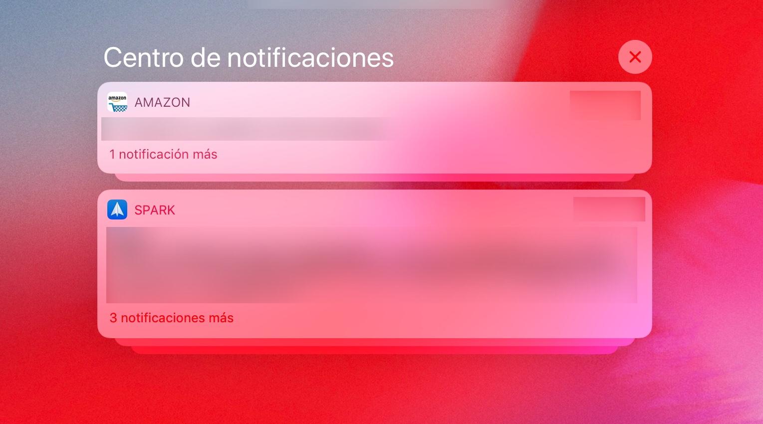 Cómo desactivar las notificaciones agrupadas en iOS 12