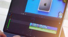 Editando vídeo en el iPad Pro