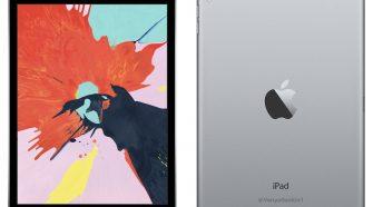 Concepto de diseño del hipotético iPad mini 5