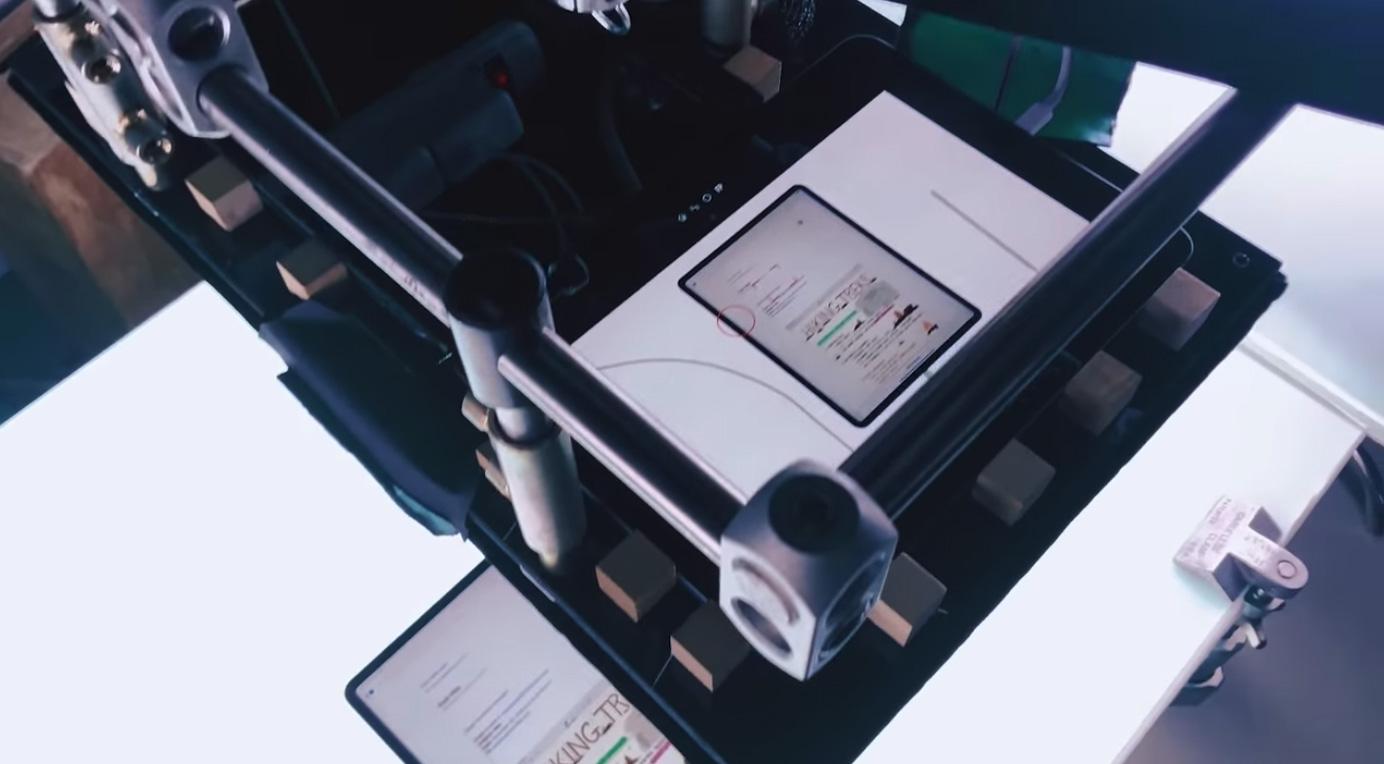 Utilizando un iPad para grabar anuncios de TV del iPad Pro